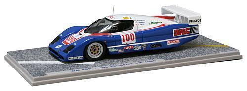 WM P85 Peugeot  100 C.Haldi  Le Mans  1986 (Bizarre 1 43   BZ391)