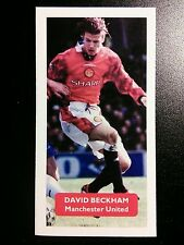 MANCHESTER UNITED - DAVID BECKHAM - Score UK football trade card