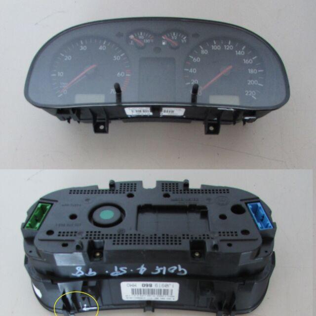 Quadro strumenti 1J0919860 Volkswagen Golf Mk4 97-03 usato(20901 44b-1-D-12)