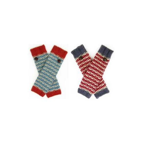 Knitted Becky Arm Warmers by powder