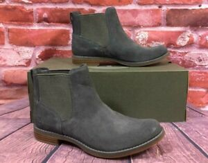 Details about TIMBERLAND WOMEN'S MAGBY CHELSEA BOOTS A1R2X DARK GREY SUEDE