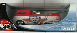 HOT WHEELS CUSTOMIZED VW DRAG BUS PICKUP Die-Cast 1:18 Scale Volkswagen NEW
