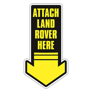 2x-ATTACH-LAND-ROVER-HERE-CAR-STICKER-towbar-land-rover-100mm-high