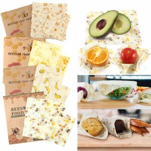 3-Pack-Natural-Reusable-Beeswax-Food-Wrap-Paper-Bees-Wax-Small-Medium-Large-UK