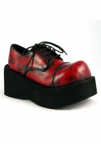 Demonia DANK-101 3 1//4 Inch Platform Oxford Women/'S Size Shoe