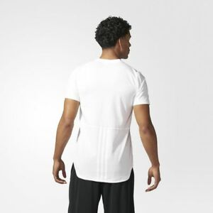 BRAND-NEW-45-Adidas-Men-039-s-Essentials-Droptail-3-Stripes-Tee-BQ1548