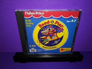 Fisher-Price-Read-amp-Play-Baxter-039-s-Birthday-Ages-4-7-PC-CD-ROM-WIN-MAC