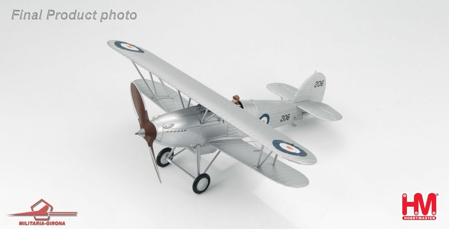 Hobby Master 1 48 HA8002 Hawker Fury I, South Africa Air Force, Oct. 1940  206