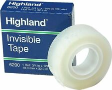 Highland Invisible Tape Matte Finish 34 X 36 6200341296ct