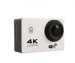 VIDEO-CAMARA-ACCION-DEPORTIVA-4K-ULTRA-HD-WIFI-BLANCO-SUMERGIBLE-30metrs