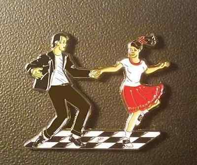 Special for John - Unique Swing Dance Magnet & Autumn Tango Pin