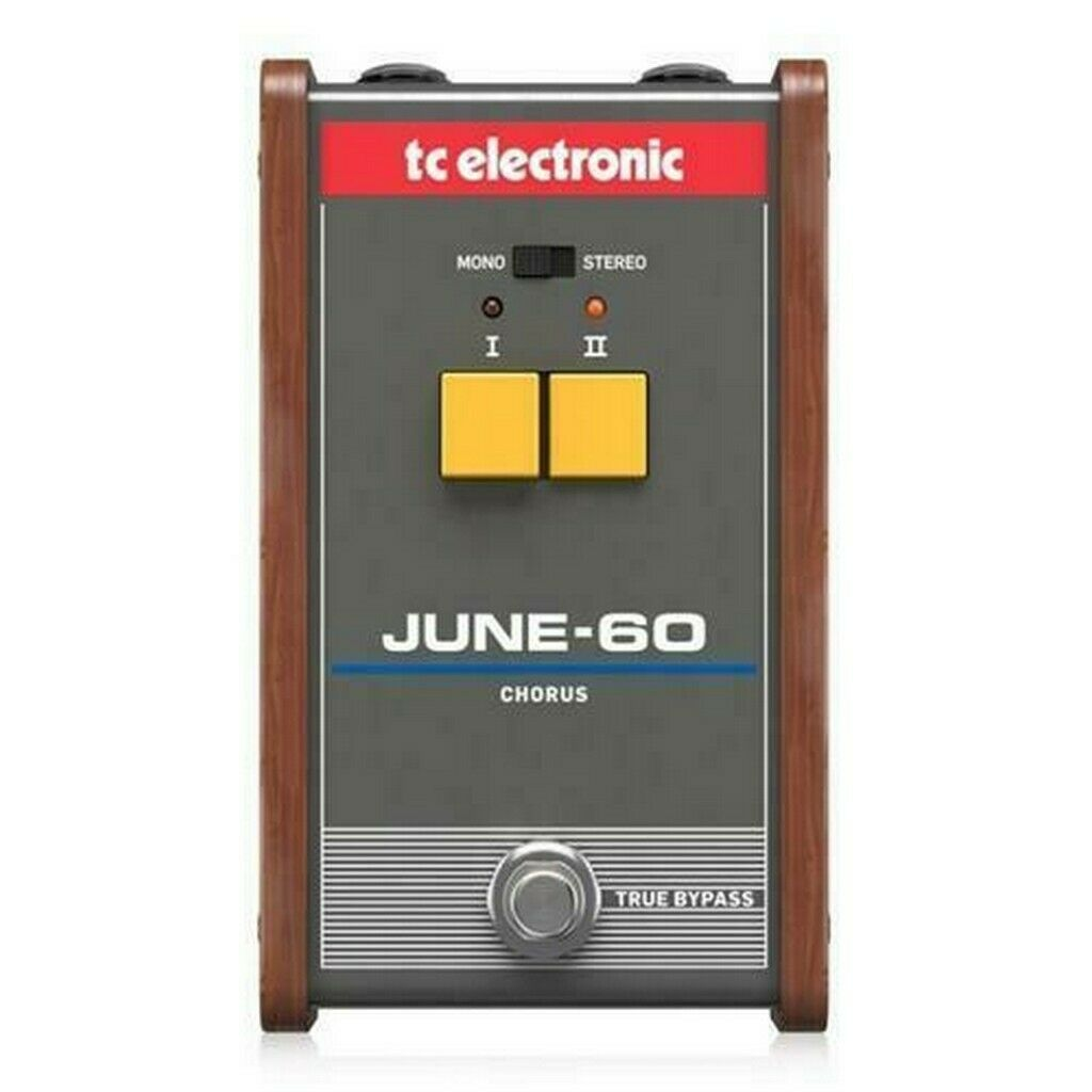 TC ELECTRONIC JUNE-60 CHORUS EFFETTO CHORUS STEREO A PEDALE
