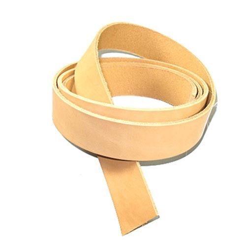 """7/8oz Cowhide Strips veg-tan leather 3/4"""" (19mm)"""