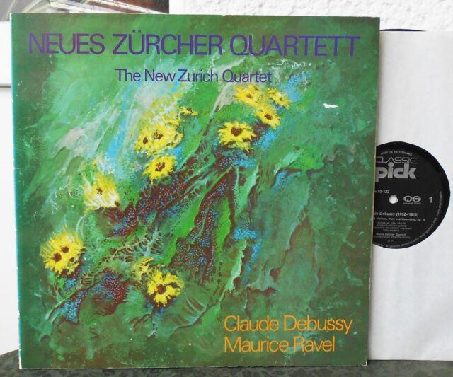New Zurich Quartet - Debussy & Ravel   Neues Züricher Quartett  LP  Schweiz