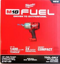 "NEW IN BOX Milwaukee FUEL 2767-20 M18 1/2"" Cordless Brushless Impact Wrench 18V"