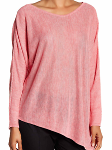 Eileen Fisher Rosewood VNeck Top M L XL $198 NWT