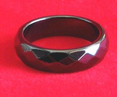 Ring Leklai Hematite Magnetic Thai amulet Prevent black magic relieve illness 59