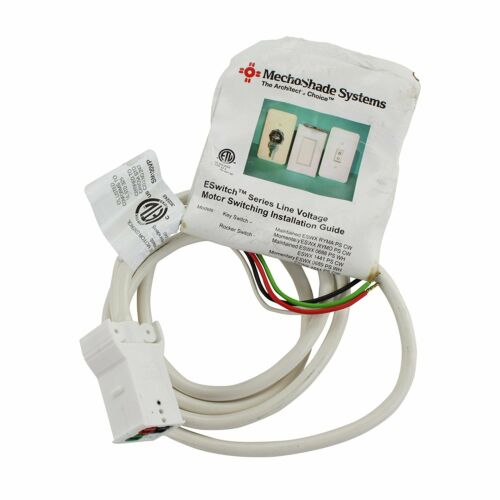 Mechoshade Systems IS-ESWITCH-04 Electroshade Line Voltage Motor Control
