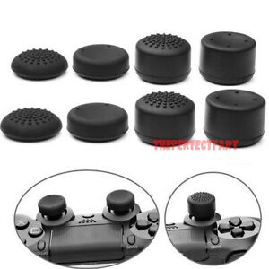 8Pcs-Black-Silicone-Thumb-Stick-Grip-Cover-Caps-For-PS4-amp-Xbox-One-Controller-US