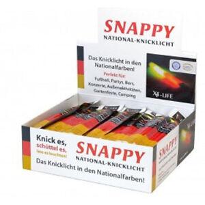 5-x-Knicklicht-in-Nationalfarben-Deutschland-Schwarz-Rot-Gold-X4-LIFE-Leuchtstab