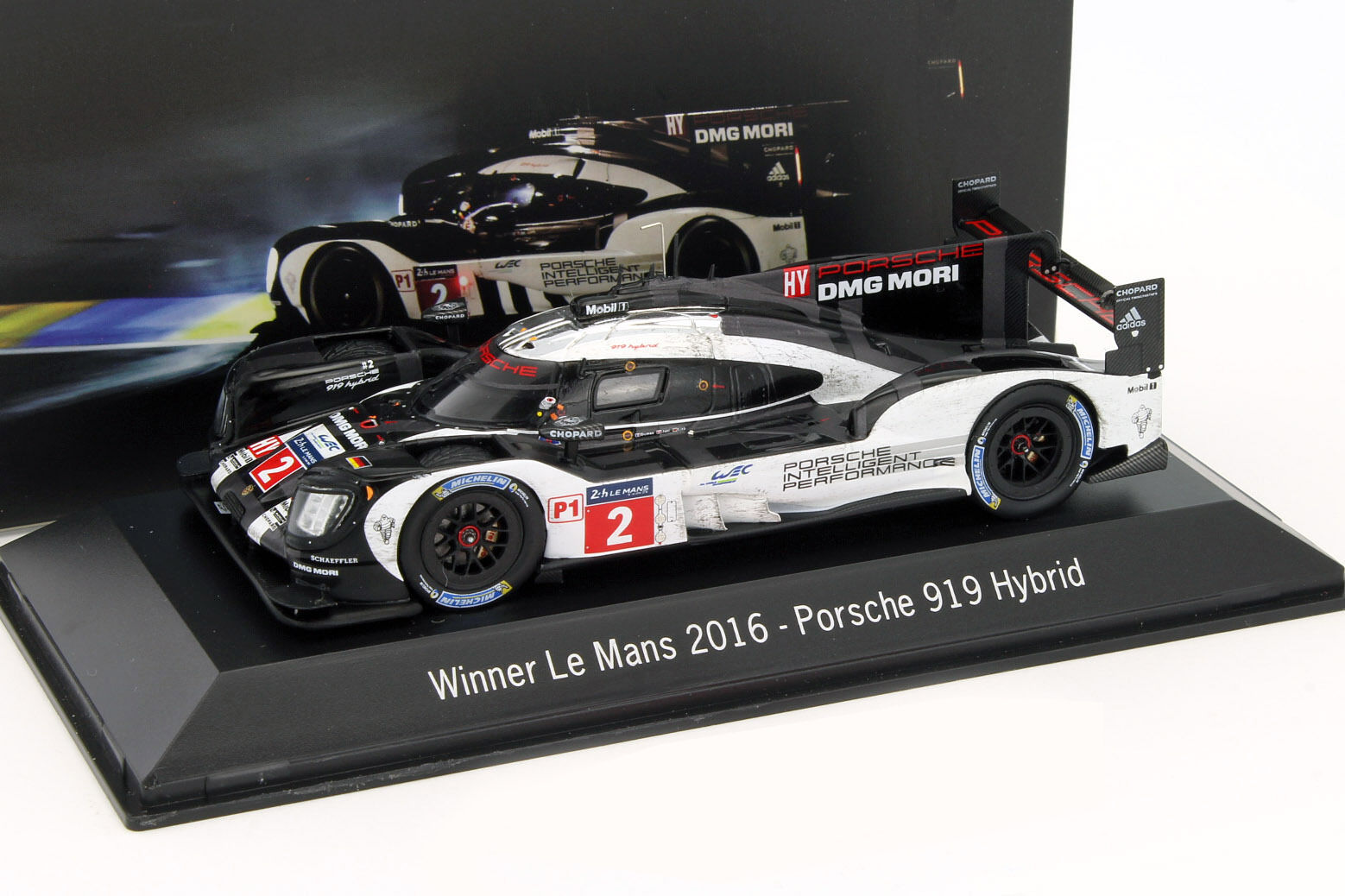 Porsche 919 Hybrid #2 WINNER 24 H LeFemmes LeFemmes LeFemmes 2016 Dirty Version 1:43 Spark | Supérieure  0541f8