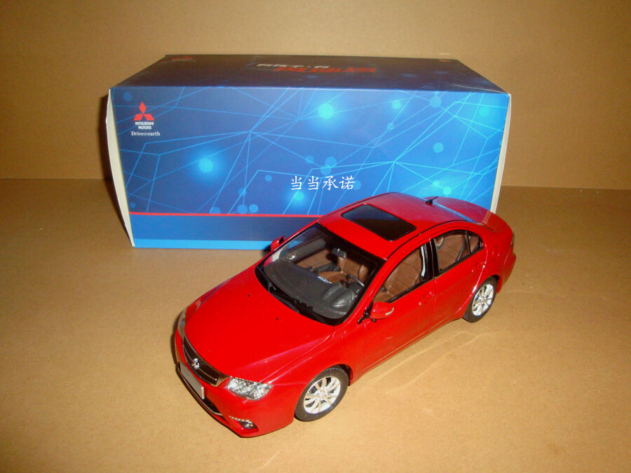 1 18 new MITSUBISHI LANCER FORTIS red color + gift