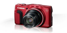 Canon PowerShot SX700 HS 16.1 Megapixels Digital Camera - Red : 8 GB + CASE FREE