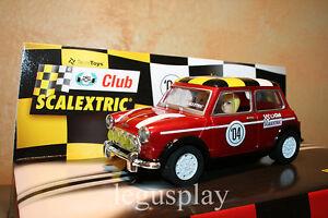 Slot-SCX-Scalextric-6137-Special-Edition-Club-2004-Mini-Cooper-New