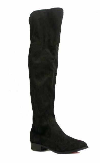 93c35785c8e Steve Madden Women's Orlene knee High Boot Black US 6 NOB