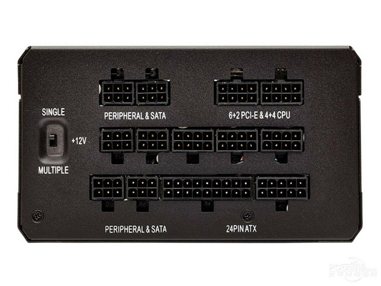 6+2pin PCI-E VGA Power Supply Cable for CORSAIR HX850 and GPU 50cm