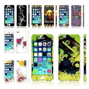 Ultra-Thin-3M-Decal-Vinyl-Skin-Sticker-Kit-for-iPhone-5-5S-Choose-Design