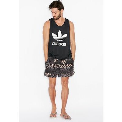 ADIDAS ORIGINALS Cheetah Swim TRUNKS Shorts AJ7841 ( M ) FREE SHIPPING
