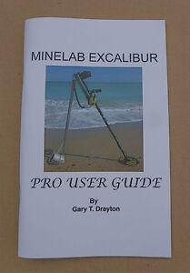 MINELAB EXCALIBUR II BOOK