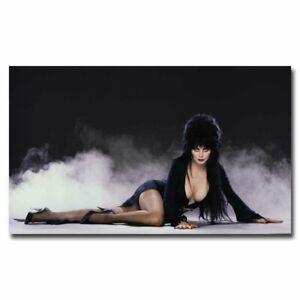 Elvira Mistress of the Dark Movie Art Silk Poster 24x36inch