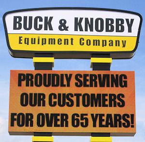 Buck and Knobby Equipment