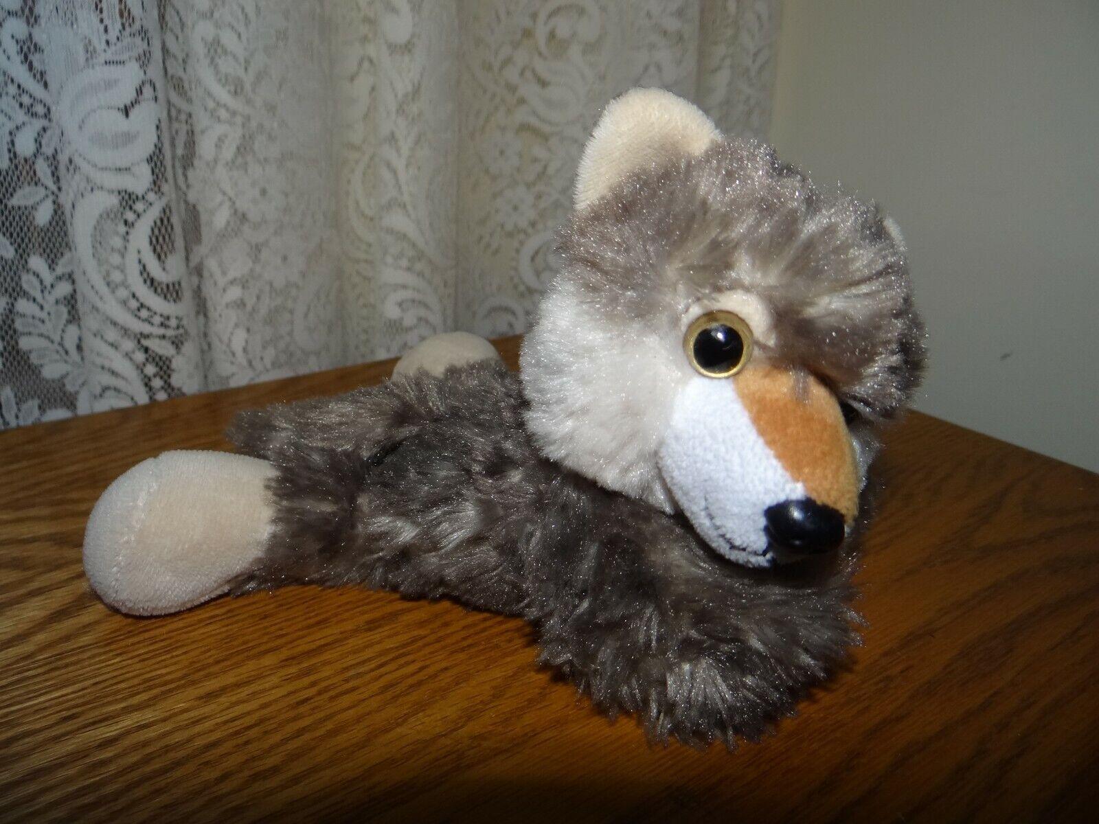 Best Stuffed Animals For Boy, Huggers Wolf Plush Slap Bracelet Plush Toy 8 Inch By Wild Republic 2017 Pre Owned
