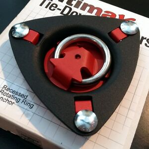Tie Down Anchor Recessed 1 5 Ring Allows For Multiple Straps Ultimax Ta 6 Ebay
