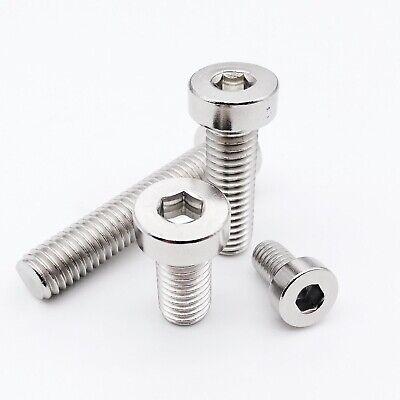 Allen Screws Hex Socket Round Head Pan Black M2 M2.5 M3 4mm-20mm 300Pcs Bolt L