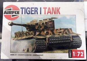 Airfix-1-72-Scale-German-Panzer-Kampfwagen-VI-Tiger-I-Tank-Model-Kit-01308
