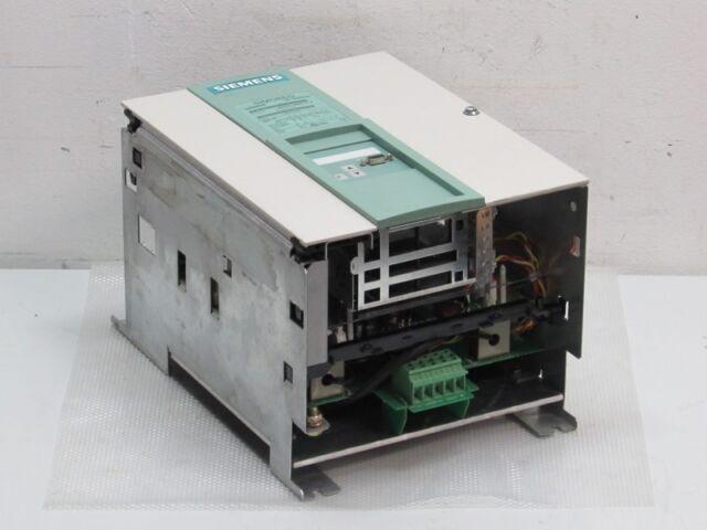 Siemens Simoreg 6RA7018-6DS22-0-Z DC-Converter + CUD1 ADB Profibus Top Zustand