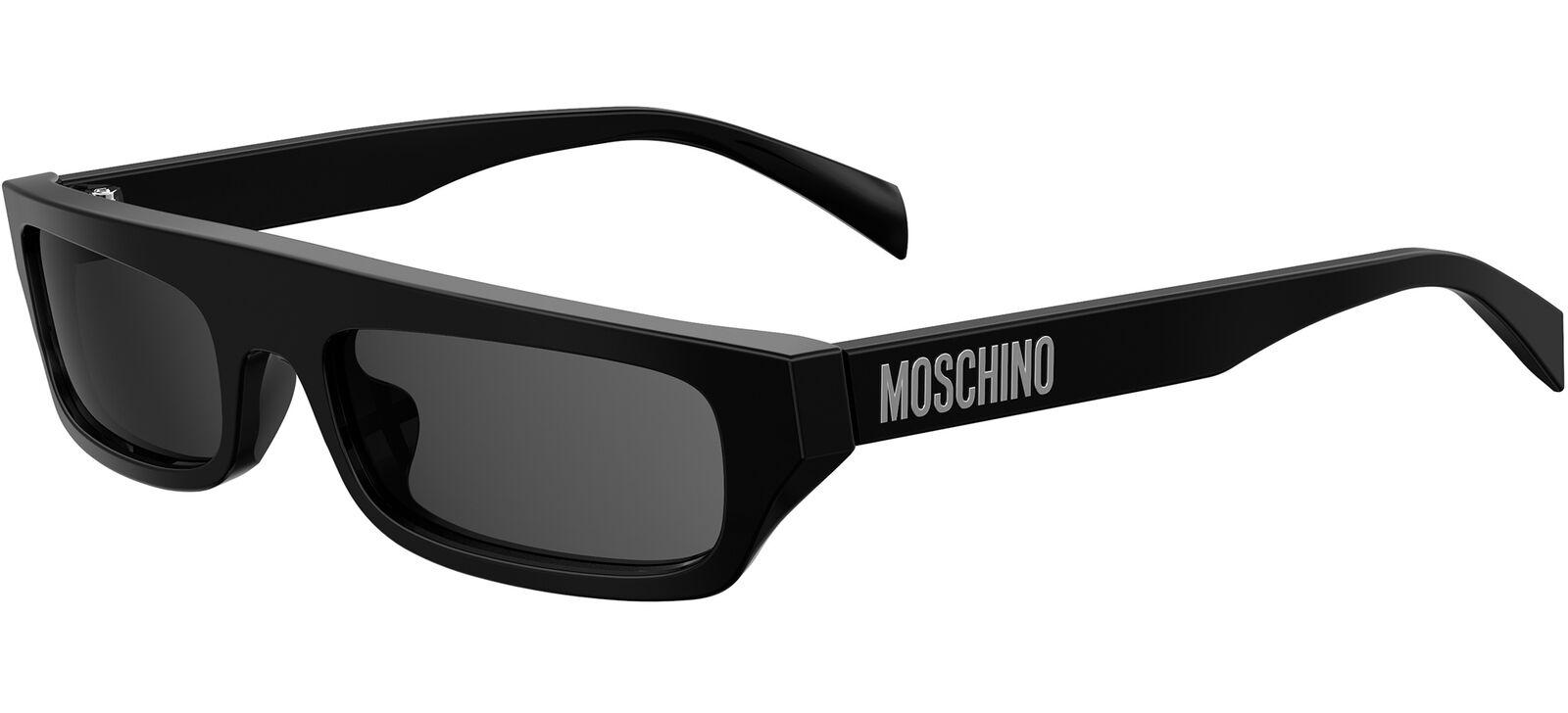 Moschino MOS047/S Black/Dark Grey 53/19/135 women Sunglasses
