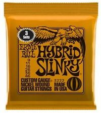 Ernie Ball Hybrid Slinky Electric Guitar Strings - 3 Sets