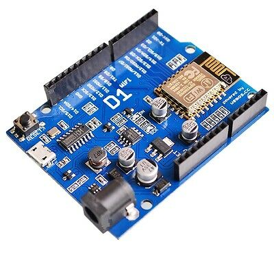 1PCS OTA WeMos D1 CH340 WiFi Development Board ESP8266 ESP-12E For Arduino NEW