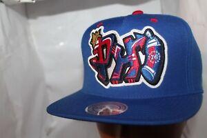 Philadelphia-76-039-ers-Mitchell-amp-Ness-NBA-Graffiti-Snapback-Hat-Cap-35-00-NEW