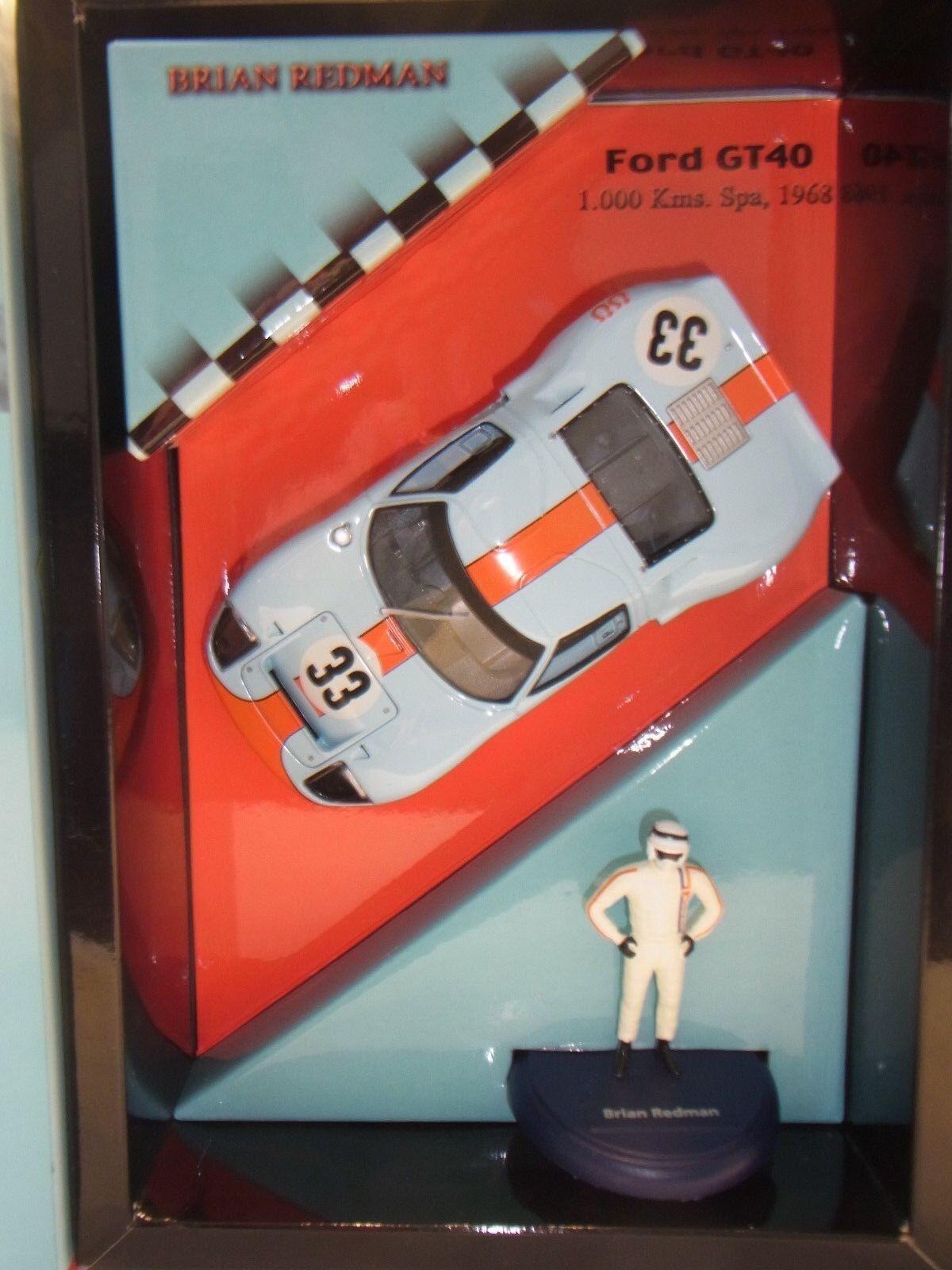 FLY FORD GT40 1000KM SPA 1968 (B) . rossoman fy96039 (F) . per pista auto 1 3 2