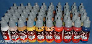 VALLEJO-GAME-COLOR-PAINT-TOP-50-BESTSELLERS-WATER-BASED-ACRYLIC-17ml-PAINTS