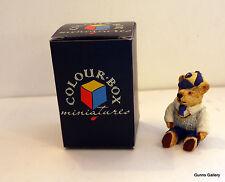 Peter Fagan Colourbox Teddy Bears boxed Morris Minor Schoolboy