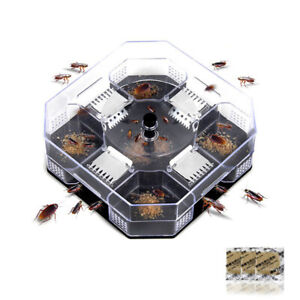 Insect-Bug-Trap-Catcher-Cockroach-Anti-Bed-Bug-Flea-Pest-Control-Tool-Killer-TRF