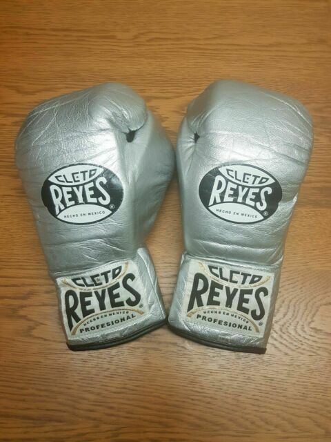 CLETO REYES TRADITIONAL CONTEST BOXING GLOVES PLATINUM 10oz L. Not Winning,Grant