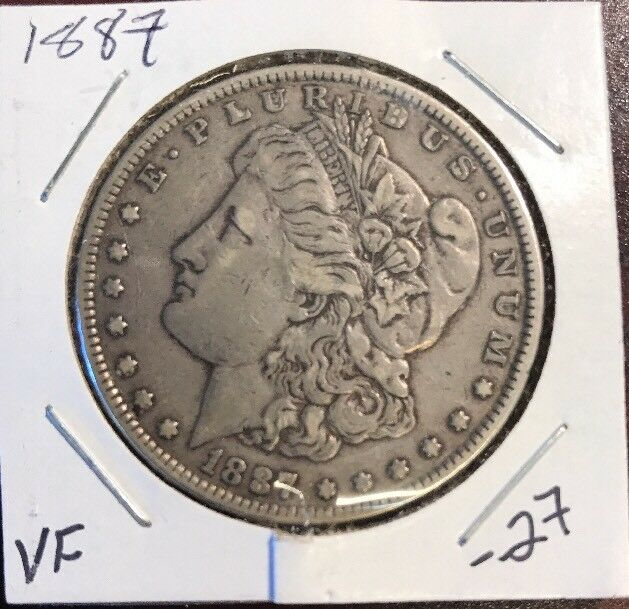 1887 1 Morgan Silver Dollar For Sale Online Ebay